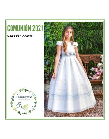 VESTIDO COMUNION 6401