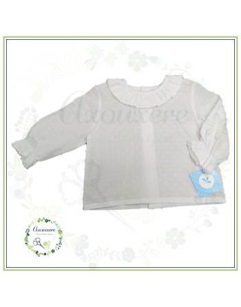 Camisa blanco m/l plumety...