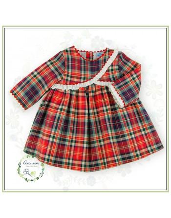 Vestido Cuadros Fam. Sonia...