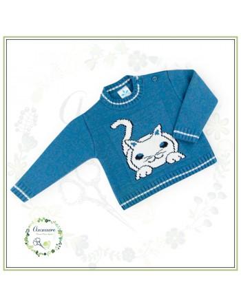 Jersey Miau Bebé Ref. 020MA266